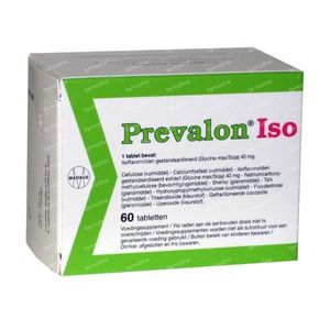 Prevalon ISO 60 tabletten