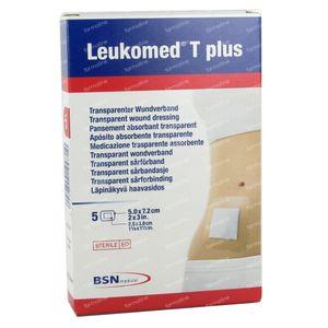 Leukomed T Plus Sterile Bandage 7,2Cmx 5Cm 5 pieces