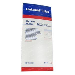 Leukomed T Plus Sterile Dressing10,0Cmx25Cm 5 pieces