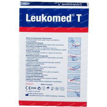 Leukomed® T Film Adhésif Transparent 7,2 cm x 5 cm 72381-03 5 pièces