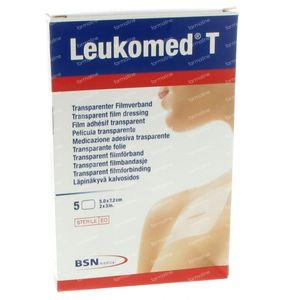 Leukomed T Steril Bandage 7,2Cmx 5Cm 5 pieces