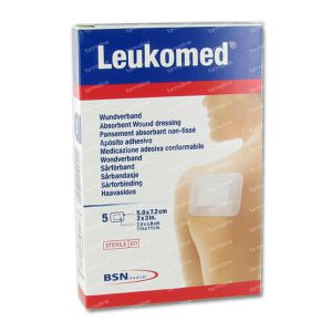 Leukomed Steril Bandage 7,2Cmx 5Cm 5 pieces