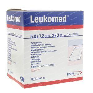 Leukomed Bandage Sterile 7,2cmx5cm 50 7238000 1 item