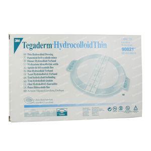 3M Tegaderm Hydrocol. Oval Ster. Thin 10cm x 12cm 10 St