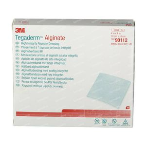 3M Tegaderm Alginate - Alginaatverband 10cm X 10cm 90112 10 stuks