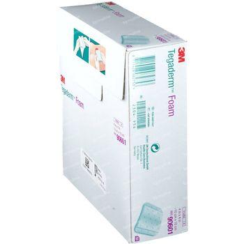 3M Tegaderm Foam Pansement Hydrocellulaire Non-adhésif 10cmx10cm 10 pièces