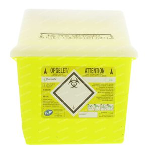 Sharpsafe Naaldcontainer 4145 3l 1 stuk