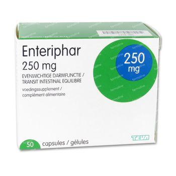 Enteriphar 250mg 50 capsules