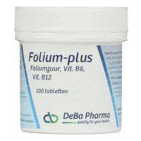 Deba Pharma Folium Plus 100  tabletten