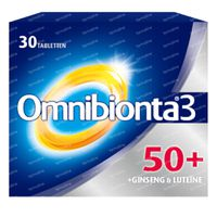 Omnibionta 3 50+ Multivitamine 30  tabletten