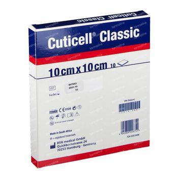 Cuticell Classic Cp Gaze 10X10Cm 7253802 10 st