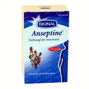 Bional Anseptine 80 St Cápsulas