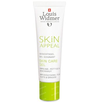 Louis Widmer Skin Appeal Skin Care Gel Zonder Parfum 30 ml