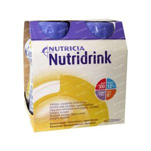 Nutridrink Banana 4x200 ml