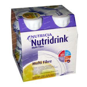 Nutridrink Multifibre Vanilla 4x200 ml