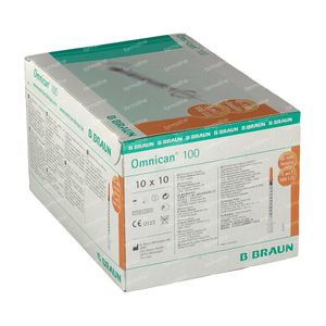 Braun Omnican 100  0,3 x 8Mm 100 stuks