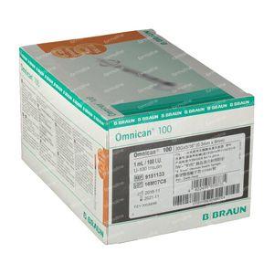 Braun Omnican 100  0,3 x 8Mm 100 st