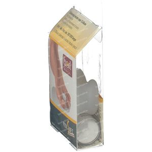 Bort Pedisoft Toe Spreader Silicone Large 2 pezzi