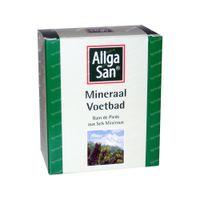 Mineraal voetbad Allgasan 10x10 g zakjes
