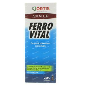 Ortis Ferro Vital 250 ml