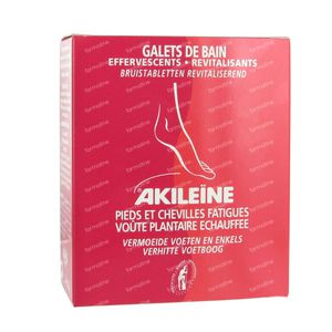 Akileine Red Footbath 120 g compresse effervescenti