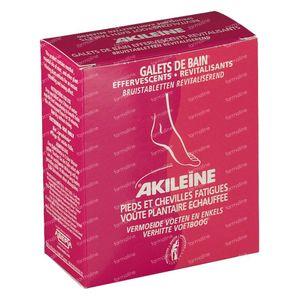 Akileine Galets De Bain Effervescents Revitalisants 120 g comprimés effervescents