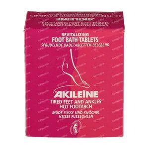 Akileine Red Footbath 120 g Compresse effervescenti