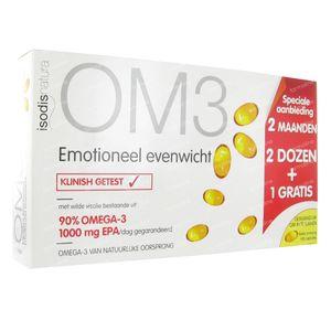 OM3 Emotioneel Evenwicht (2+1 Gratis) 180 St capsules