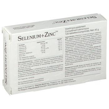 Pharma Nord Selenium+Zinc 120 comprimés