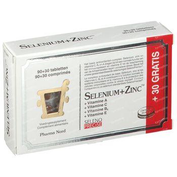 Pharma Nord Selenium+Zinc 120 tabletten