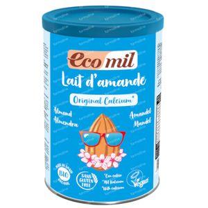 EcoMil Instant Lait d'Amandel + Calcium 400 grams