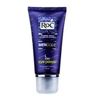 Roc Men code 5 sec Eye Power serum Anti-fatigue yeux 15 ml