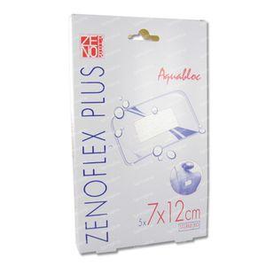 Zenoflex Plus 7cm x 12cm Plaster Sterile 5 bandages