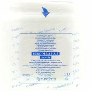 Euroderm Plus 5cm x 7cm Plaster Sterile 1 St