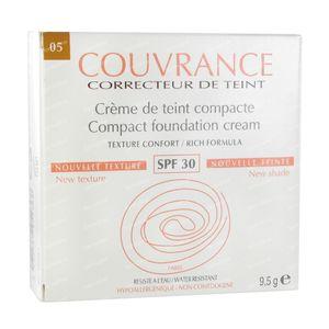 Avène Couvrance Getinte Compact Crèmes Comfort SPF30 Soleil 9,50 g