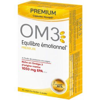 OM3 Premium Emotioneel Evenwicht 45 capsules