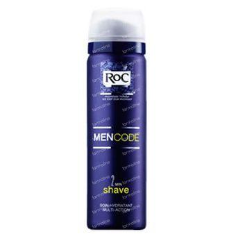 Roc Men Code Mousse a Raser Peaux Sensibles 150 ml