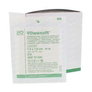 Vliwasoft Splitkompres Y-Vormig 7.5 x 7.5cm 12099 50 stuks