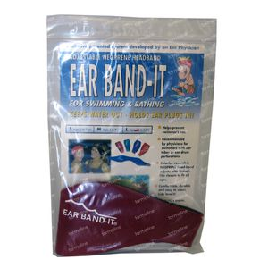 Ear Band-It Zwemmen Neopreen Small 1 St