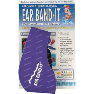 Ear Band-It Zwemmen Neopreen Large 1 stuk