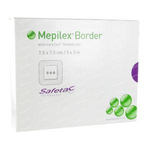 Mepilex Border 7,5cmx7,5cm Sterile 5 stuks