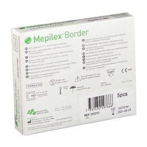 Mepilex Border Steriel 7,5cm x 7,5cm 5 stuks
