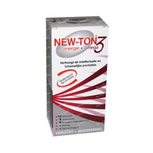 New-Ton + Omega 3 56 tabletten