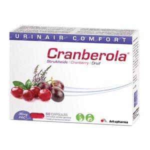 Cranberola Urinaire Confort 36mg 60 St cápsulas