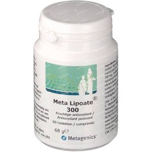 Meta Lipoate 60 comprimés