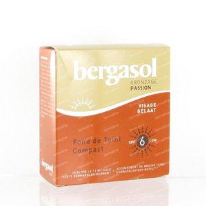 Bergasol Getinte Compacte Zonnecrème SPF 6 8 g