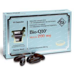 Bio-Q10 (Quinon Q10) 200mg 20 St Capsulas de accion retardada