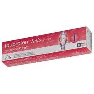 Kela Ibuprofen 5% 50 g gel