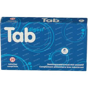 Tabdigest 20 comprimés