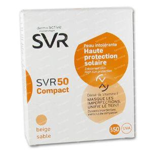 SVR 50 Polvos Compactos Beige Sable SPF50+ 10 ml